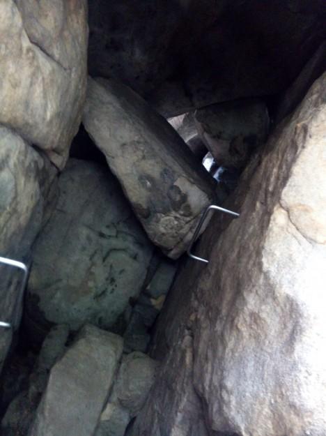 Rübezahlstiege Höhle
