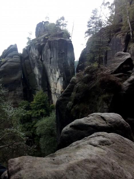 Rübezahlstiege oben